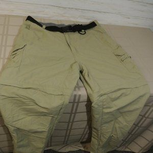 CABELAS Sz. 38 x 34 Men CARGO CONVERTIBLE Pants